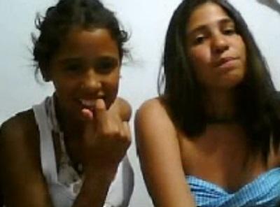 4 jovencitas por webcam